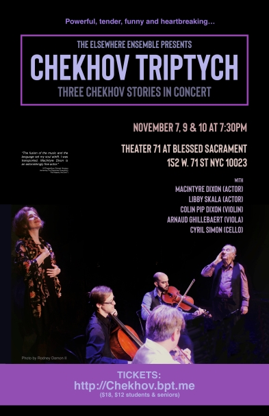 Chekhov NYC Nov 2018 poster for website