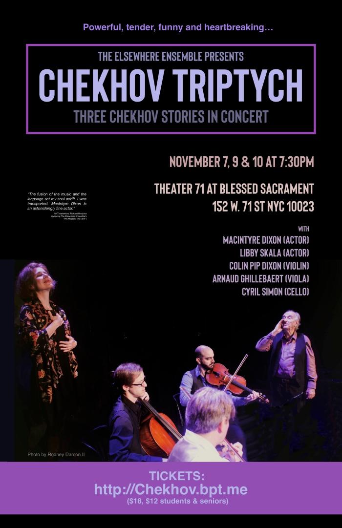 Chekhov NYC Nov 2018 poster for website